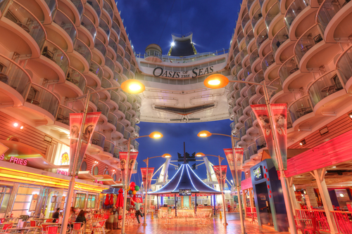 Crucero Oasis of the Seas® por dentro