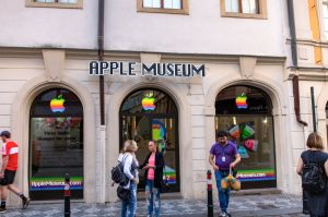 Museo Apple en Praga